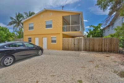 Key Largo Single Family Home For Sale: 404 Mahogany Circle