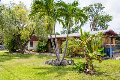 Key Largo Single Family Home For Sale: 532 Plante Street
