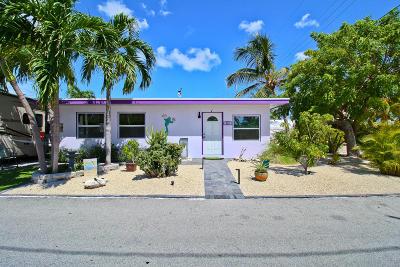 Marathon Single Family Home For Sale: 587 116th Street Ocean