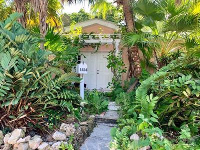 Key West Single Family Home For Sale: 1414 Leon Street