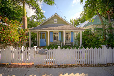 Key West FL Single Family Home For Sale: $1,100,000