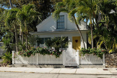 Key West FL Single Family Home For Sale: $899,000