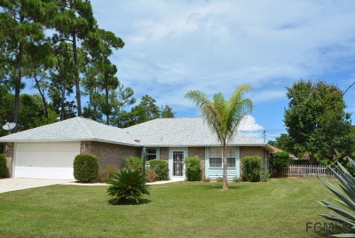 Palm Coast FL Rental For Rent: $2,200