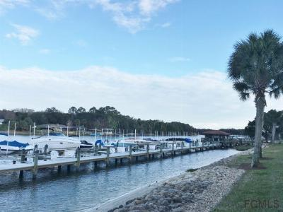Residential Lots & Land Sold: 5 Slip Canopy Walk Marina