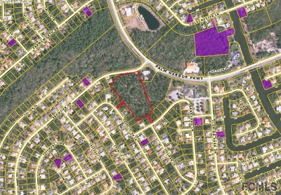 Palm Coast FL Commercial Lots & Land For Sale: $690,000
