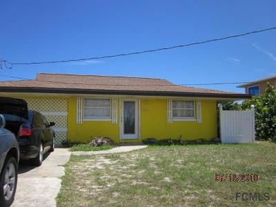 Flagler Beach Single Family Home For Sale: 3381 N N Ocean Shore Blvd