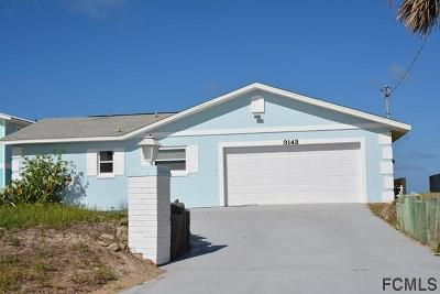 Flagler Beach Single Family Home For Sale: 3143 N Ocean Shore Blvd