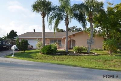 Palm Coast FL Single Family Home For Sale: $279,000