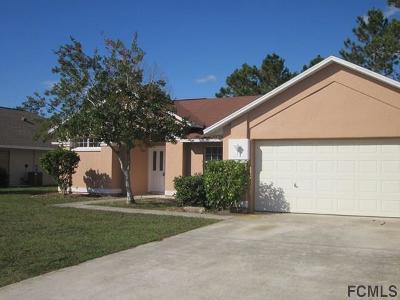 Palm Coast Single Family Home For Sale: 4 Burnet Place