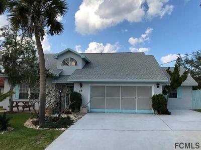 Palm Coast FL Single Family Home For Sale: $308,800