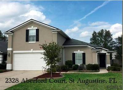 St Augustine Single Family Home For Sale: 2328 Aberford Ct