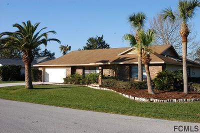 Palm Coast FL Single Family Home For Sale: $283,000