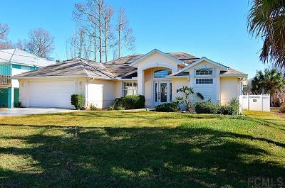 Marineland Acres Single Family Home For Sale: 16 Surf Drive