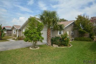 Flagler Beach Single Family Home For Sale: 318 11th St N