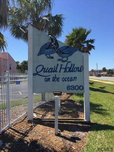 St Augustine Condo/Townhouse For Sale: 6300 A1a S #A4 1U
