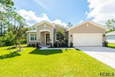 Palm Coast FL Single Family Home For Sale: $229,900