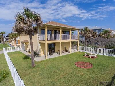 Flagler Beach Single Family Home For Sale: 1101 N Ocean Shore Blvd N