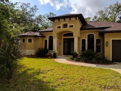Palm Coast Single Family Home For Sale: 4 Debra Ln