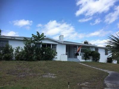 Daytona Beach Single Family Home For Sale: 2324 S Peninsula Ave