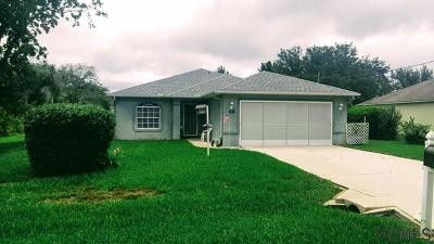 Palm Coast Single Family Home For Sale: 48 Firethorn Lane