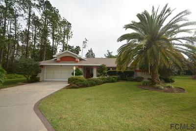 Palm Coast Single Family Home For Sale: 3 Woodhill Pl