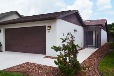 Flagler Beach Single Family Home For Sale: 72 Beachwood Dr