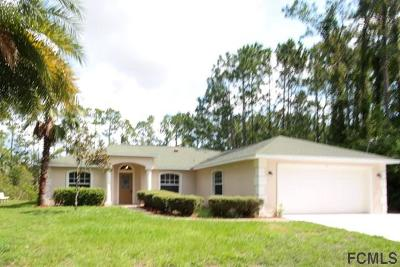 Palm Coast Single Family Home For Sale: 35 Pheasant Drive