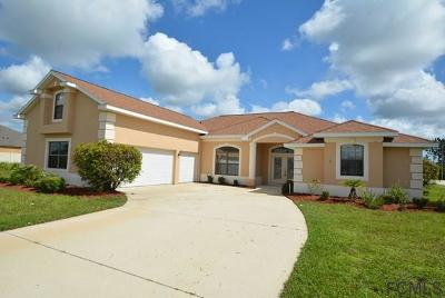 Palm Coast FL Single Family Home For Sale: $355,000