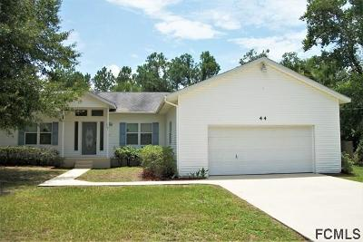 Seminole Woods Single Family Home For Sale: 44 Sloganeer Trail