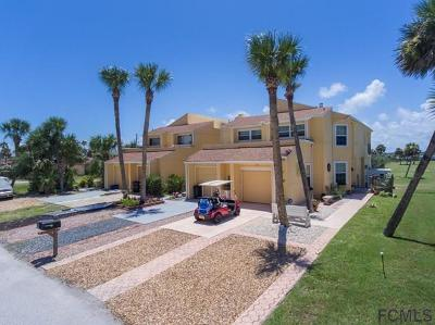 Flagler Beach Condo/Townhouse For Sale: 3581 S Central Ave