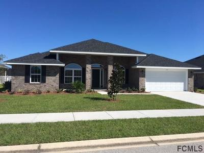 Flagler Beach Single Family Home For Sale: 45 Turtle Ridge Dr