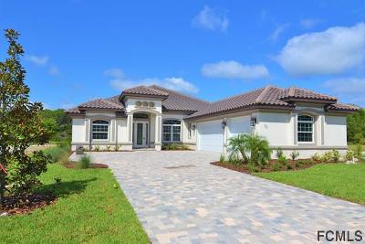 Palm Coast Plantation Single Family Home For Sale: 35 Lakewalk Dr N