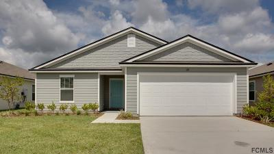 Bunnell Single Family Home For Sale: 123 Fairway Ct