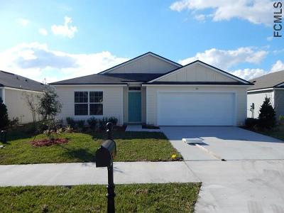 Bunnell Single Family Home For Sale: 121 Fairway Ct
