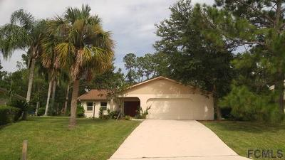 Palm Coast Single Family Home For Sale: 120 Belleaire Dr