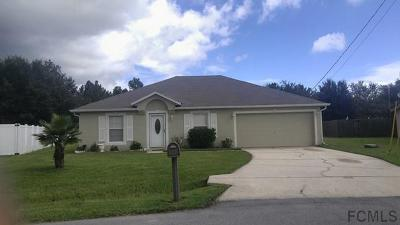 Palm Coast Single Family Home For Sale: 50 Langdon Drive