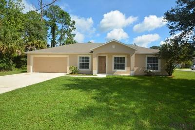Palm Coast Single Family Home For Sale: 61 Sloganeer Trail