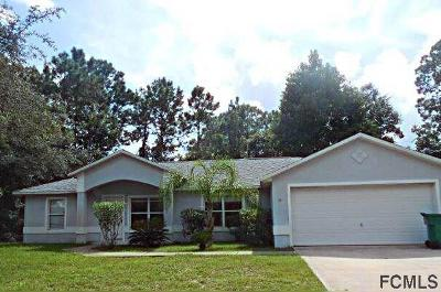 Palm Coast Single Family Home For Sale: 34 Pennypacker Ln