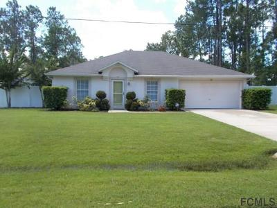Palm Coast Single Family Home For Sale: 112 Red Mill Drive