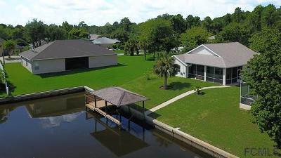 Palm Coast Single Family Home For Sale: 30 Columbia Lane