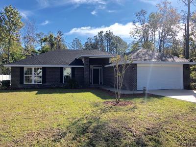 Palm Coast Single Family Home For Sale: 3 Zachary Place