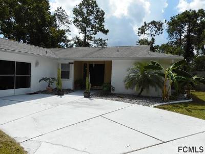 Palm Coast Single Family Home For Sale: 28 Fleetwood Drive