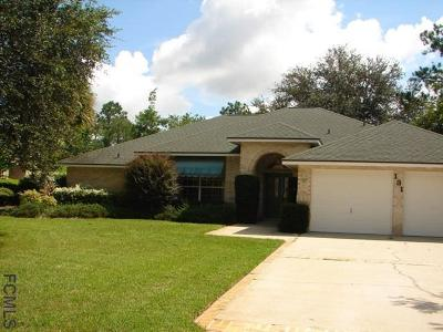 Palm Coast FL Single Family Home For Sale: $224,900
