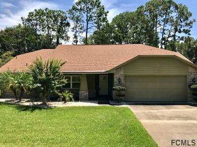 Palm Coast Single Family Home For Sale: 30 Bennett Ln