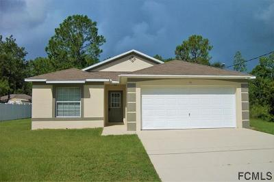 Palm Coast Single Family Home For Sale: 16 Russman Lane