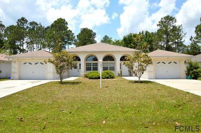 Palm Coast Single Family Home For Sale: 7 Pony Express Drive