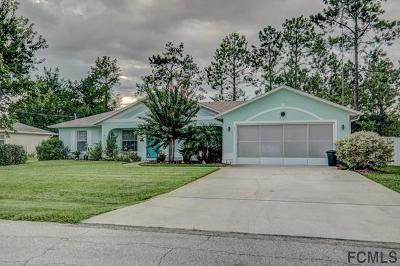 Palm Coast Single Family Home For Sale: 55 Prince Eric Ln
