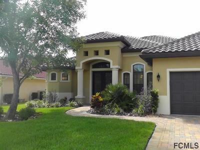 Palm Coast Plantation Single Family Home For Sale: 12 Emerald Lake Court