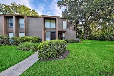 Palm Coast Condo/Townhouse For Sale: 6 Surrey Ct