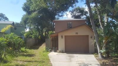 Flagler Beach Single Family Home For Sale: 189 Oak Lane